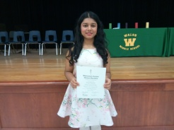 NJHS Induction Ceremony 2018